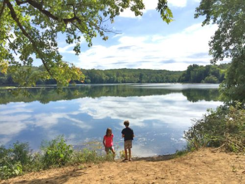 Take a hike and take in the scenery at Riverbend Park