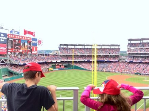 Catch a Nats game with the kids this weekend!