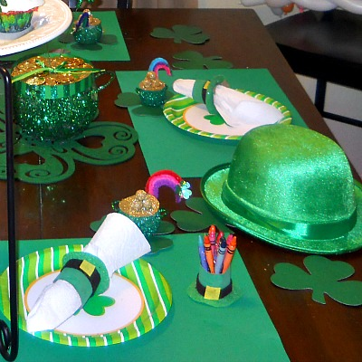 St. Patrick's Day Napkin Holder Craft