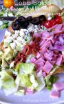 Cobb Salad with Honey Mustard Dressing - KidFriendlyThingsToDo.com