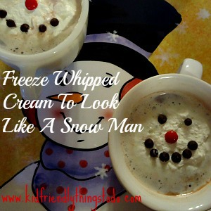 Make A Melting Snowman For Hot Cocoa! This is so much fun
