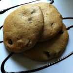 No Butter Chocolate Chip Muffin Cookies
