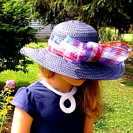 Elegant Patriotic Hat For Girls
