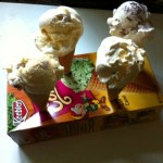 Use The Ice Cream Cone Box As An Ice Cream Cone