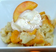 Amazing Peach Cobbler