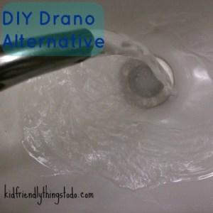 DIY Drano Alternative