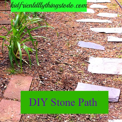 DIY Stone Path