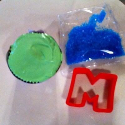 Monsters University Cupcake Idea