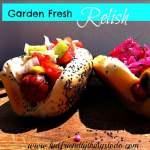 Garden Fresh Cucumber Relish