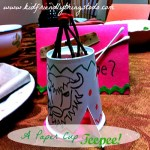 Design Your Own Teepee - A Simple Thanksgiving Craft & Table Decoration