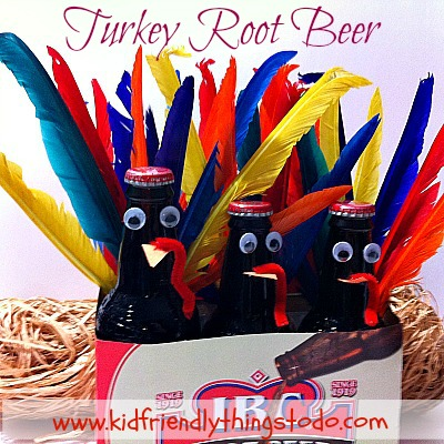 Awesome! Turkey Root Beer for a fun Thanksgiving Drink!!!!!!!