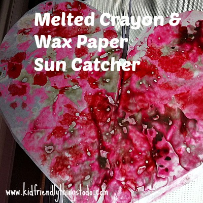 A cool recycling craft, and sun catcher all in one!