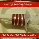 Cat in the Hat Napkin Ring