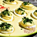 The best Easy and Creamy Dijon Deviled Eggs Recipe - www.kidfriendlythingstodo.com