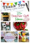 Over 25 End of the year teacher gifts and teacher appreciation gift ideas! www.kidfriendlythingstodo.com