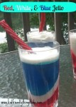 How fun! Individual Red, White, and Blue Patriotic Jello! Super cool dessert for summer BBQs!