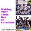 Easier than you think! Chocolate Trees! A cool Halloween Dessert!