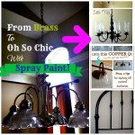 Cool ideas on using Rustoleum Spray Paint