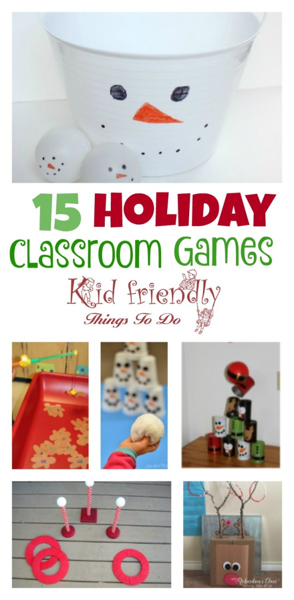 Christmas Party Games For Holiday Fun With the Kids