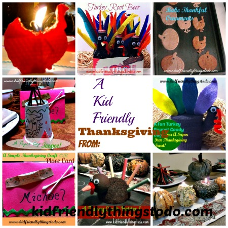 An adorable kid friendly Thanksgiving that any kid would go crazy over! from Kid Friendly Things To Do