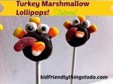 A Tutorial on making these adorable turkeys fora kid's Thanksgiving Fun Dessert! Oh my gosh! They are so stinking cute!
