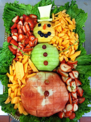 Over 15 Non-Candy, healthy fruit and vegetable Christmas snacks for kids school classroom Christmas parties  - www.kidfriendlythingstodo.com