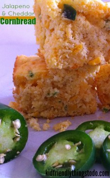 Shortcut Jalapeno and Cheese Corn Muffins! So incredibly good!