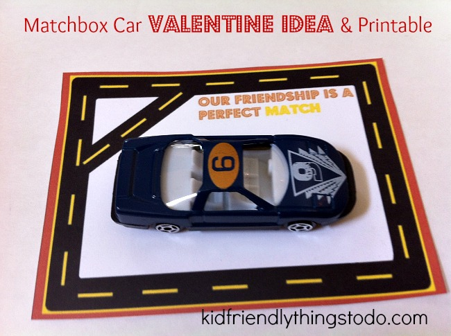 But, I Thought The Boys Would Really Enjoy This Not So Love, Dovey, Mushy  Matchbox Car Valentine. It Includes U2013 Of Course U2013 A Free Printable Road For  Some ...