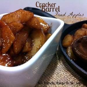 Love Cracker Barrel's Fried Apples! Comfort food at it's finest!