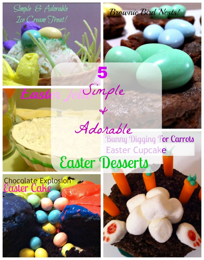 Oh my goodness. Check out this collection of Easter desserts! Adorable and Simple - my favorite combination!