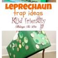 Several leprechaun trap ideas for kids on St. Patrick's Day - www.kidfriendlythingstodo.com