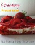 Love Strawberry Pretzel Salad! Perfect for holidays and summer picnics