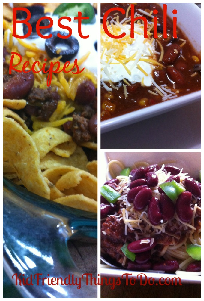 Best Chili Recipes including Slow Cooker Chili
