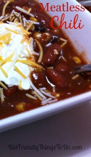 Hearty Meatless Vegetarian Chili