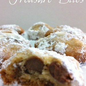 One Bowl Chocolate Chip Cookie Recipe! These are amazingly good! They reminded me of toffee bars. Delicious. Prepare yourself with a tall glass of milk!