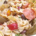 Easy Greek Pasta Salad Recipe - KidFriendlyThingsToDo.com
