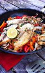 Thank goodness for easy skillet meals! This one is as delicious as it is simple to make, and so healthy too! Great family meal!