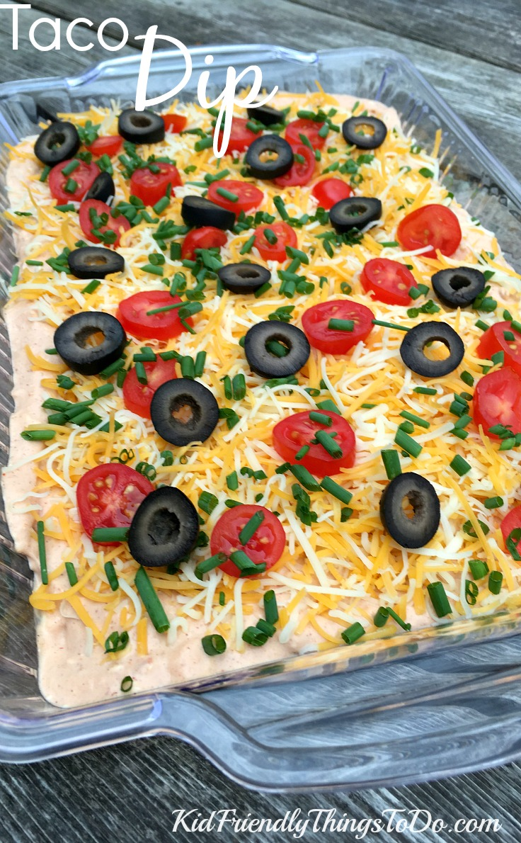 how to make taco dip with cream cheese