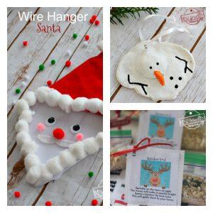 Simple Christmas and Winter Crafts - KidFriendlyThingsToDo.com