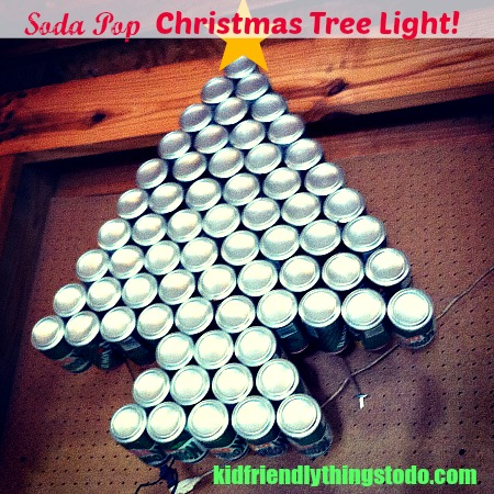 Soda Pop Christmas Tree Light - KidFriendlyThingsToDo.com