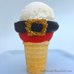 Easy DIY Chocolate Covered Santa Suit Ice Cream Cones - Perfect for your Christmas Parties - KidFriendlyThingsToDo.com