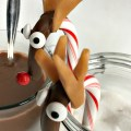 Candy Cane Reindeer Treats for Christmas fun with the kids or hot cocoa! - KidFriendlyThingsToDo.com
