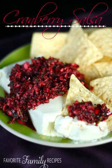 roundCranberry-Salsa