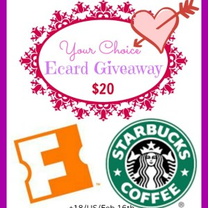 Your Choice - $20 Fandango or Starbucks Giveaway