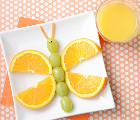 A collection of fun spring foods for kids - KidFriendlyThingsToDo.com
