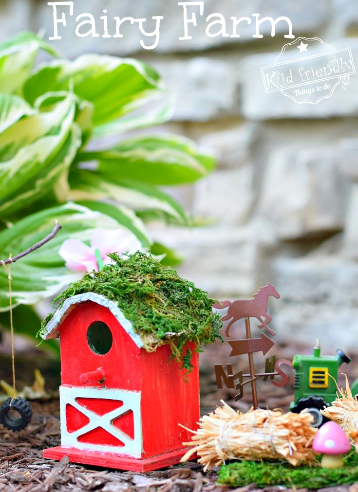 Over 15 Fairy House Garden ideas for kids in the garden! DIY - www.kidfriendlythingstodo.com
