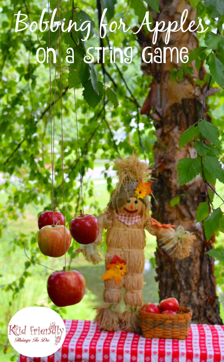 A fall apple themed harvest party recipes crafts games for Fall outdoor activities for adults
