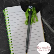 Make A Wicked Witch Pen for a Kid Friendly Halloween Party Craft!