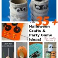 30 + Halloween Crafts and Games for Kids. Great ideas for parties and celebrations - www.kidfriendlythingstodo.com