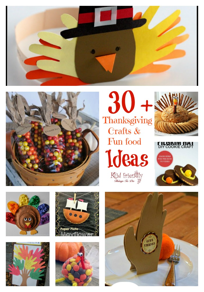 Over 30 thanksgiving crafts food crafts for a kid for Fun kid food crafts